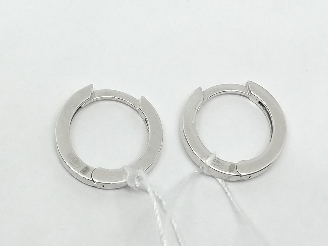 Серебряные серьги. Артикул 4902