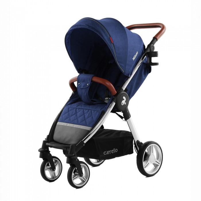 Прогулочная коляска CARRELLO Milano c дождевиком L/ Velvet blue