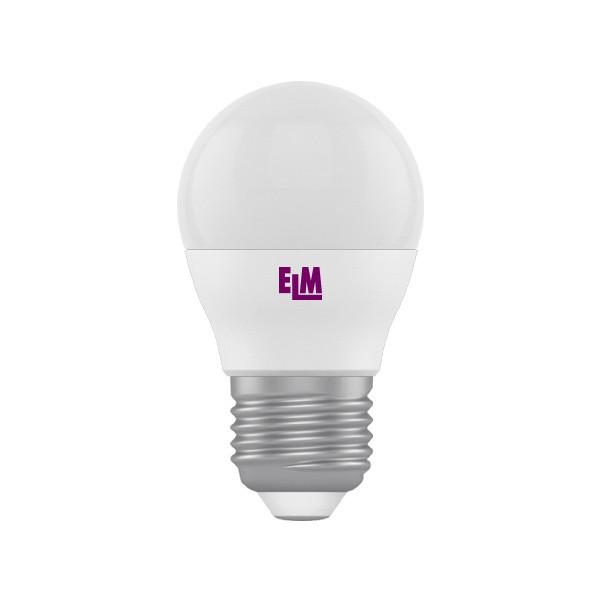 Лампа ELM Led сфера  5W PA10L E27 4000 D45 3шт