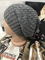 Женская зимняя шапка на флисе 002D/03, фото 1
