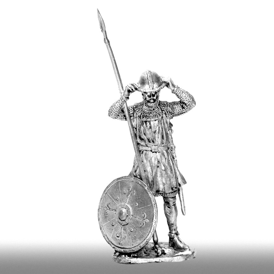 Пехотинец, XIV век