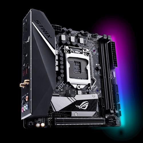 Материнcька плата ASUS STRIX_B360-I_GAMING s1151 B360 2xDDR4 M.2 HDMI-DP M.2 Socket 3 mITX