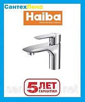 Смеситель для умывальника Haiba Columbia 001