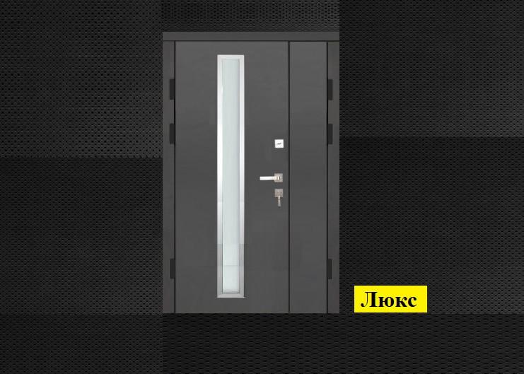 Широкие двери входные Люкс_2058