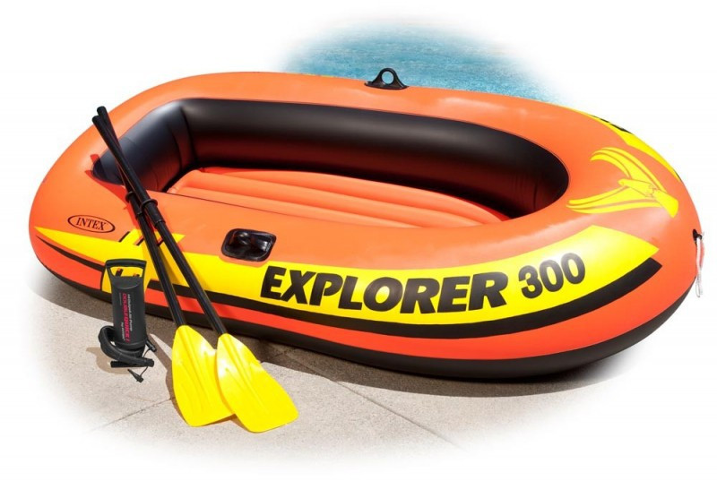 Надувная лодка Explorer - 300 Set Intex 58332 - Интернет-магазин Prima-Best.com в Одессе