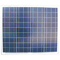 Солнечная батарея 50Вт, 12В, поликристаллическая, PLM-050P-36, Perlight Solar