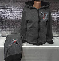 Спортивный костюм на флисе с капюшоном женский Louis Vuitton (S/42), фото 1