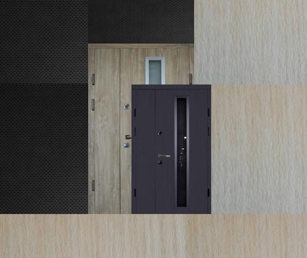 Широкие двери входные Люкс_2059