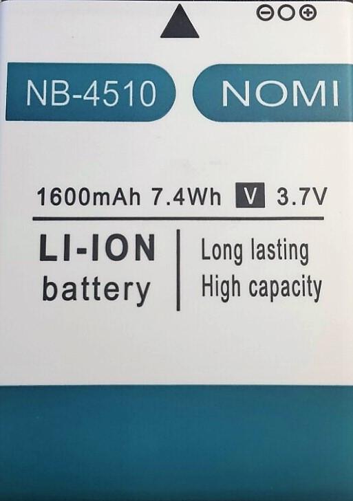 Аккумулятор для Nomi i4510  1600mAh батарея