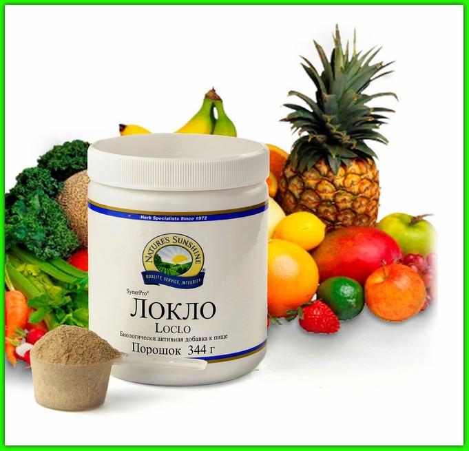 Локло НСП (Loclo Nsp) Пищевые волокна Очищение кишечника Среда для микрофлоры Детокс Снижает сахар холестерин