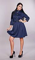 Модное молодежное платье Фея (синее), фото 1