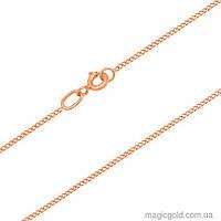 Золотая цепочка панцирная тонкая