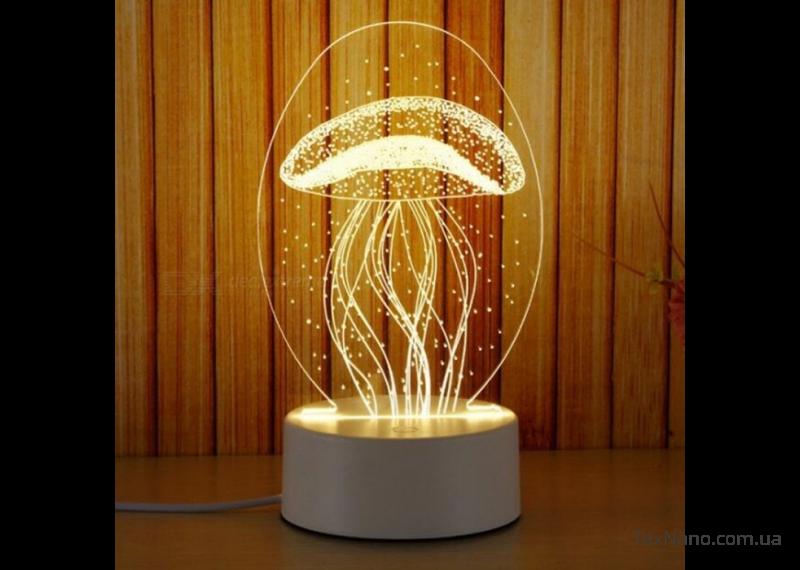 Трехмерный светодиодный светильник 1113