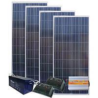 Автономная Солнечная электростанция - Дача 97/29кВт*ч в мес., AXIOMA energy