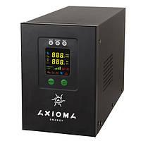 AXIOMA energy ИБП+стабилизатор 1500ВА (1050Вт), 24В + MPPT контроллер 40А 24В, AXEN.IS-1500,