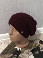 Женская зимняя шапка на флисе 002D/04, фото 1