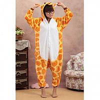 Теплая Модная Пижама Кигуруми Жираф (M)