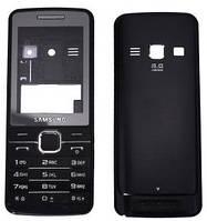 Корпус для Samsung S5610 с клавиатурой, черный, копия ААА