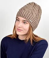 Женская шапка veilo 3326 Беж