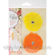 Цветы для декора Flower Pin FP102