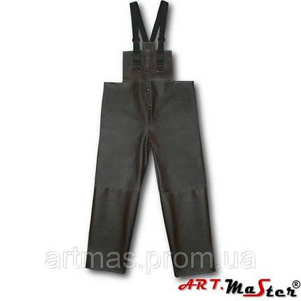 Полукомбинезон рабочий ARTMAS коричневого цвета SPli, фото 2