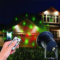 Декоративный уличный лазерный проектор c пультом управления