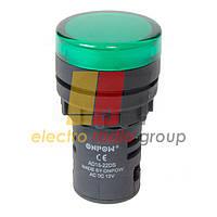 Сигнальна арматура AD16-22DS 220VAC (зелёний) Daier