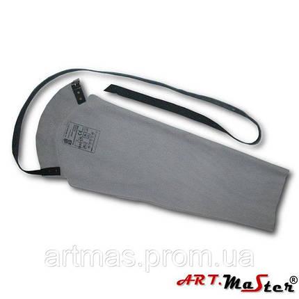 Рукав кожаный ARTMAS серого цвета , фото 2