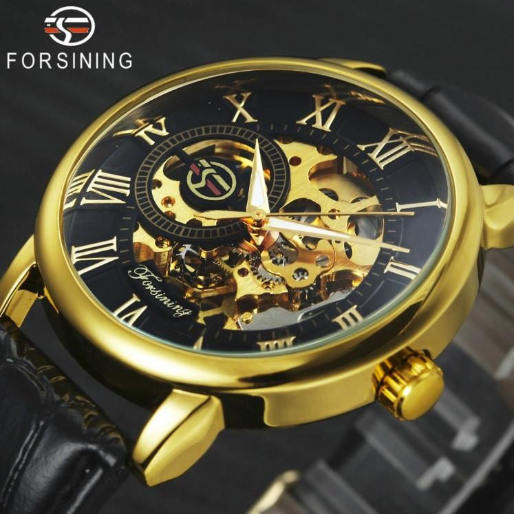 Мужские механические часы Forsining Rich 1120 Skeleton. Механічний годинник  Форсининг 8c681b4ff3c6b