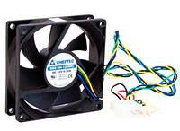 Корпусний вентилятор CHIEFTEC Thermal Killer AF-0825PWM,80мм,2700 об/хв,4pin PWM/Molex,35dBa
