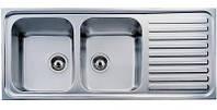 Кухонная мойка  TEKA CLASSIC 2B 1D полированная (10119023)