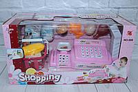 Кассовый аппарат, на батарейках, сканер, калькулятор, звук/свет, фото 1