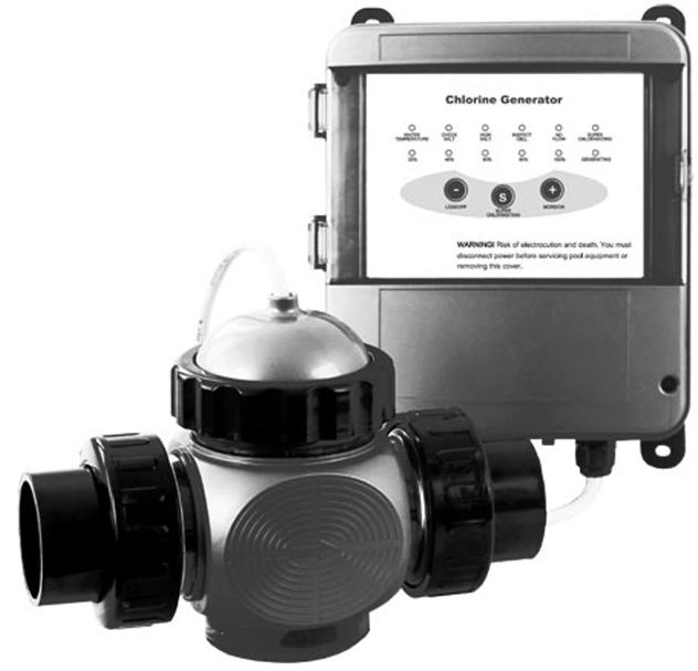 Преобразователь соли в хлор Bridge BC0181 для бассейна до 68 м³