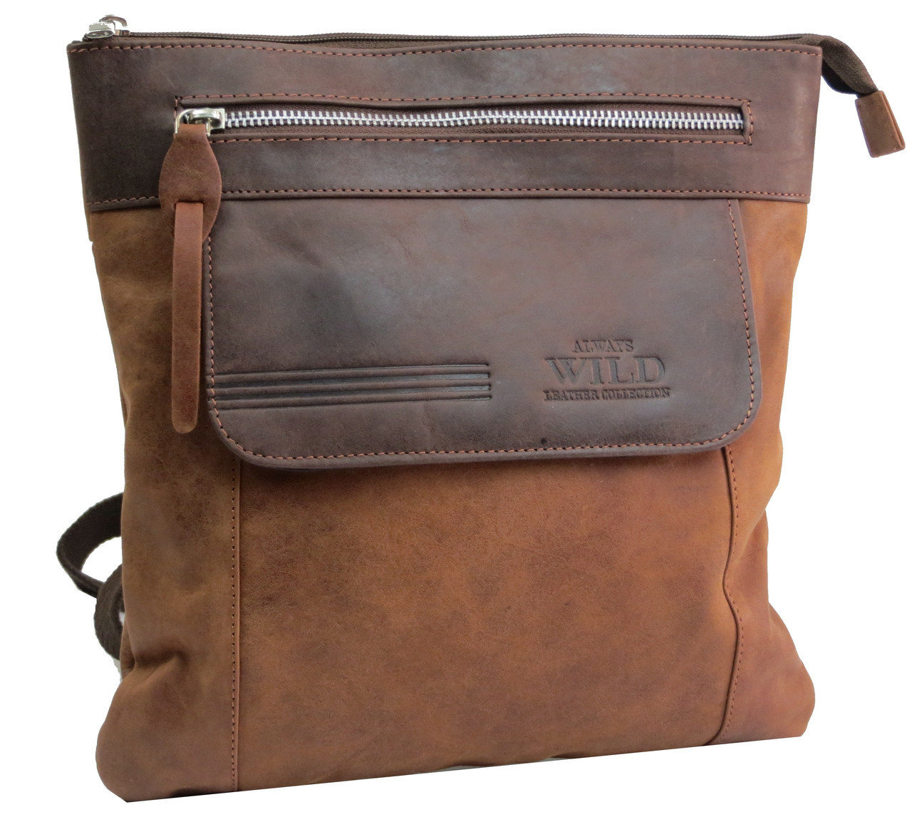 da56551af106 Вертикальная мужская кожаная сумка Always Wild BAG4HB, цена 1 450 грн.,  купить в Киеве — Prom.ua (ID#841255730)