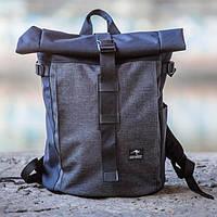 100 % ОРИГИНАЛ Городской рюкзак Maracana Grey. Стильный и строгий дизайн гармонично вписывается в городе, фото 1