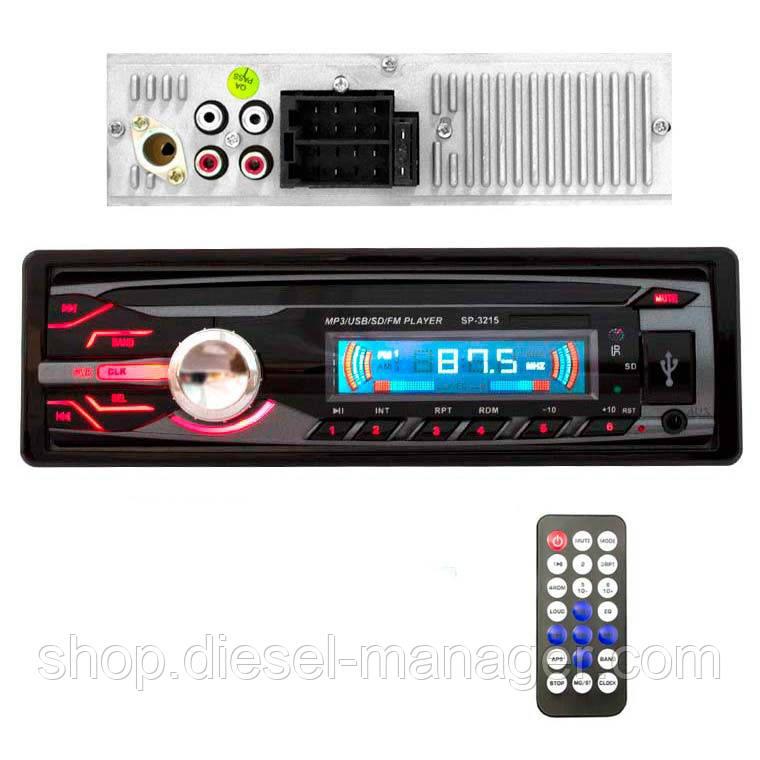 Автомагнитола SP-3215 ISO USB Micro SD (33985)