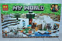 Конструктор MY WORLD, 284 детали, в коробке, фото 1