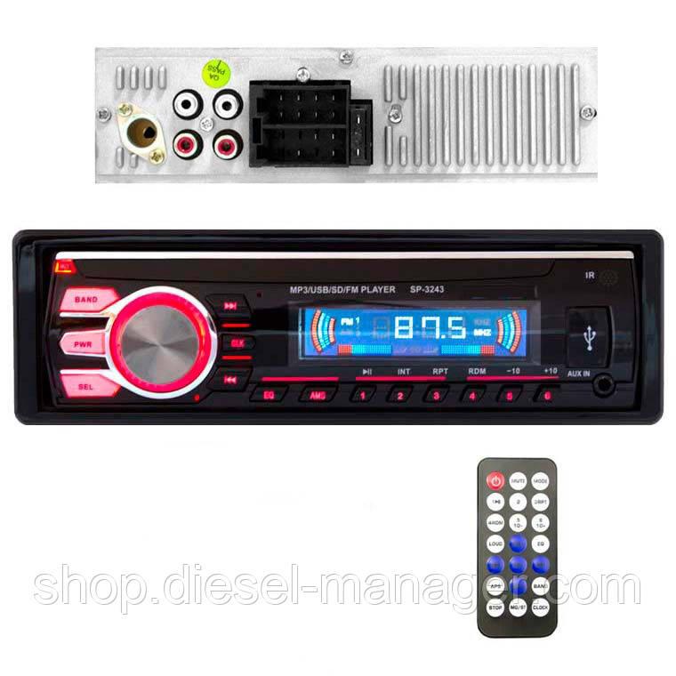 Магнитола SP-3243 ISO USB Micro SD (33989)