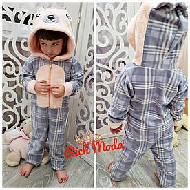 Детская зимняя пижама кигуруми.