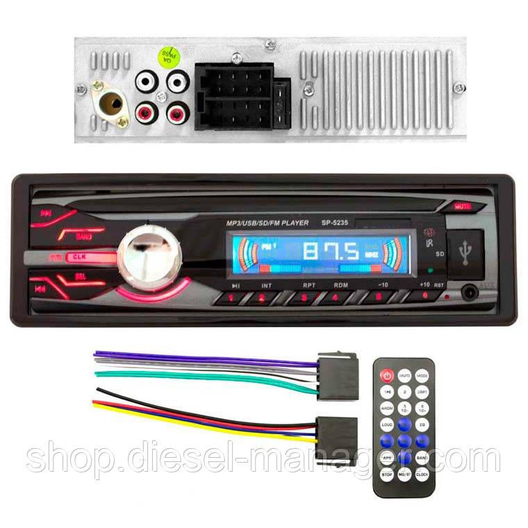 Автомагнитола SP-5235 ISO USB Micro SD (33978)