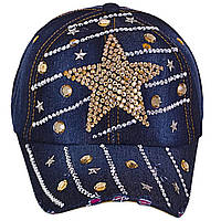 Кепка джинс Star 4