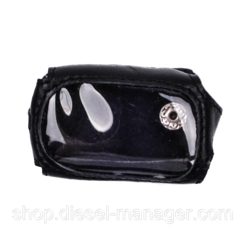 Чехол Valenta для брелока Sheriff 925 кожаный Черный (РК22)