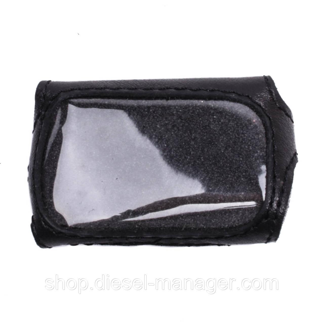 Чехол Valenta для брелока Davinci 330/399 кожаный Черный (РК431)