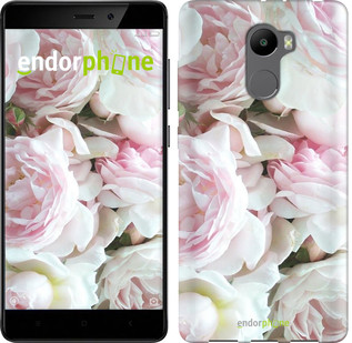 """Чехол на Xiaomi Redmi 4 Пионы v2 """"2706c-417-2911"""""""