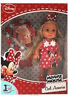 Оригинал. Кукла Evi Minnie Mouse с аксессуарами для волос Simba 5746513W