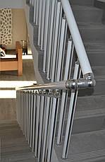 Перила алюминиевые без лееров, фото 2