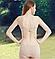 Женственный комплект женского нижнего белья из натуральной ткани, фото 2