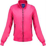 Женская яркая розовая куртка весенняя,спортивная женская куртка