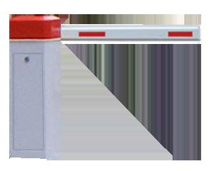 Автоматический шлагбаум Gant 306 с телескопической стрелой 3,7-6 м