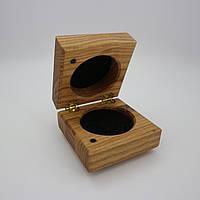 Футляр шкатулка для колечка та кульчиків Classiс 1.0 Ash / Футляр для кольца и сережек Classiс 1.0 Ash